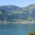 Baulandparzelle mit See- und Bergsicht