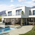 Neues Einfamilienhaus mit schöner Aussicht