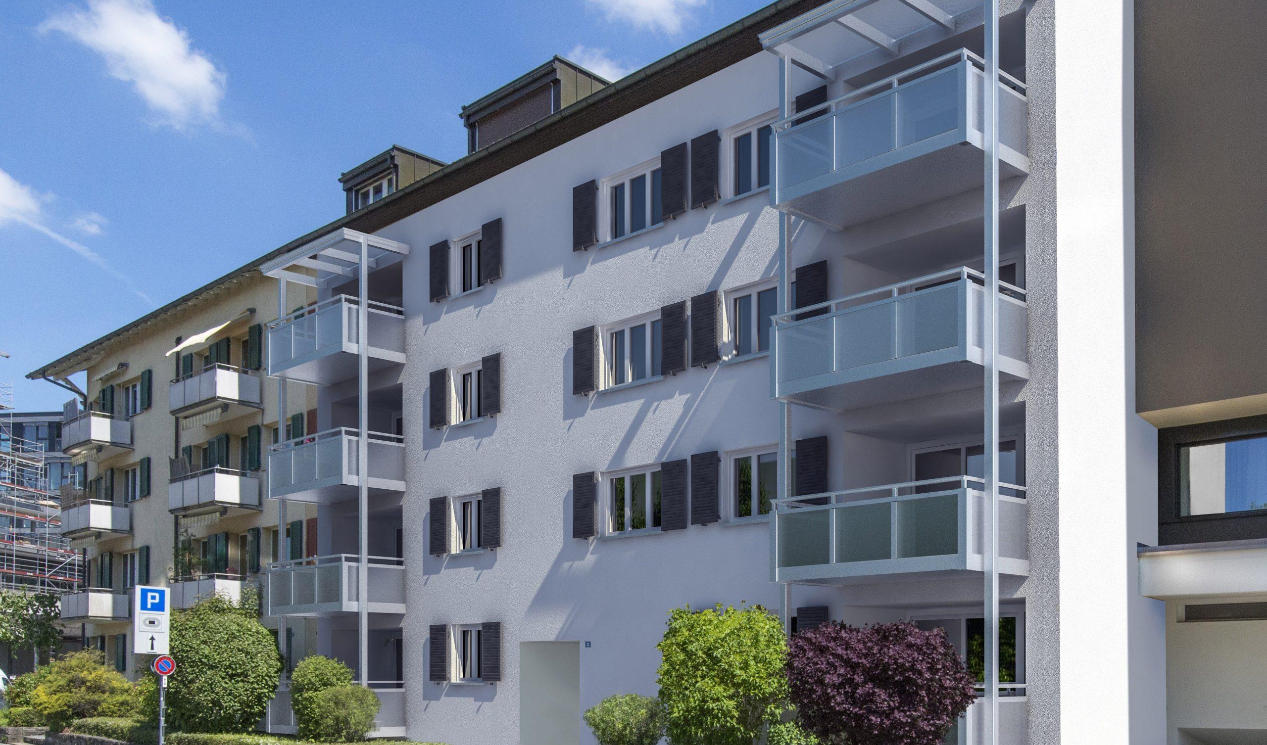 Erstbezug nach Sanierung: Wohnung im 1. OG