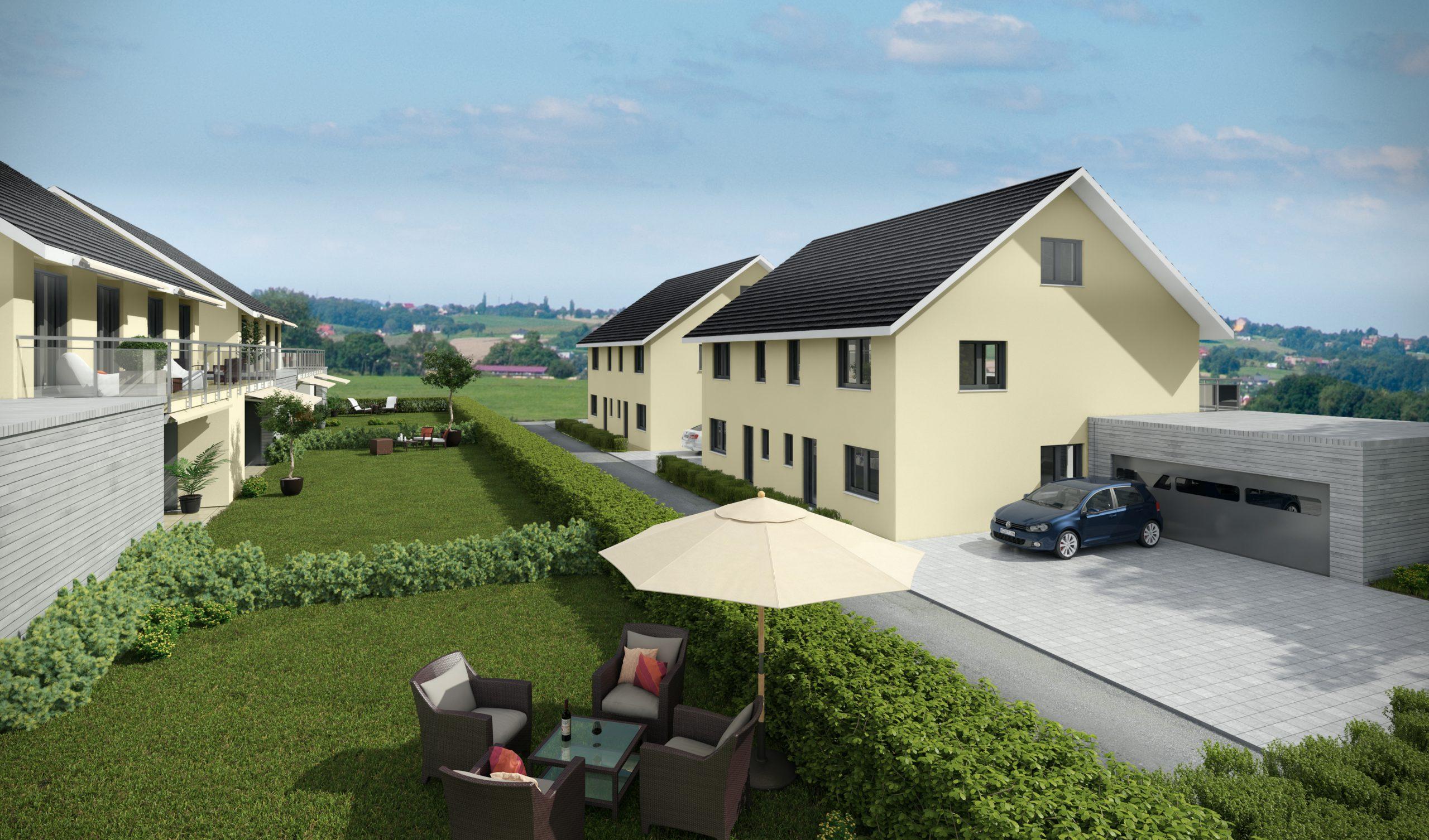 Neues Einfamilienhaus im Dorfzentrum