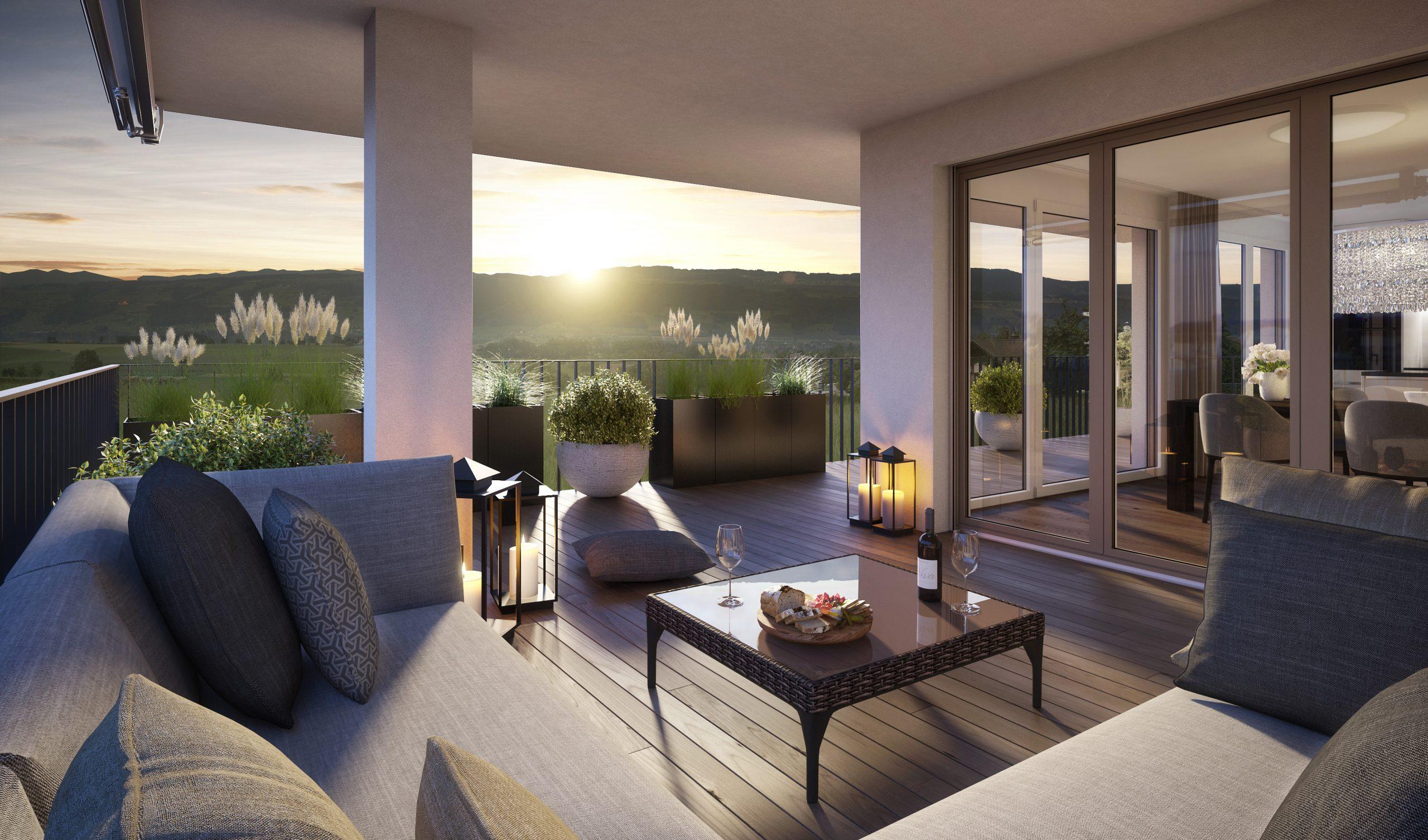 Wohnpark Weienbrunnen – Ihre neue 3½ Zimmer Wohnung am Lindenberg