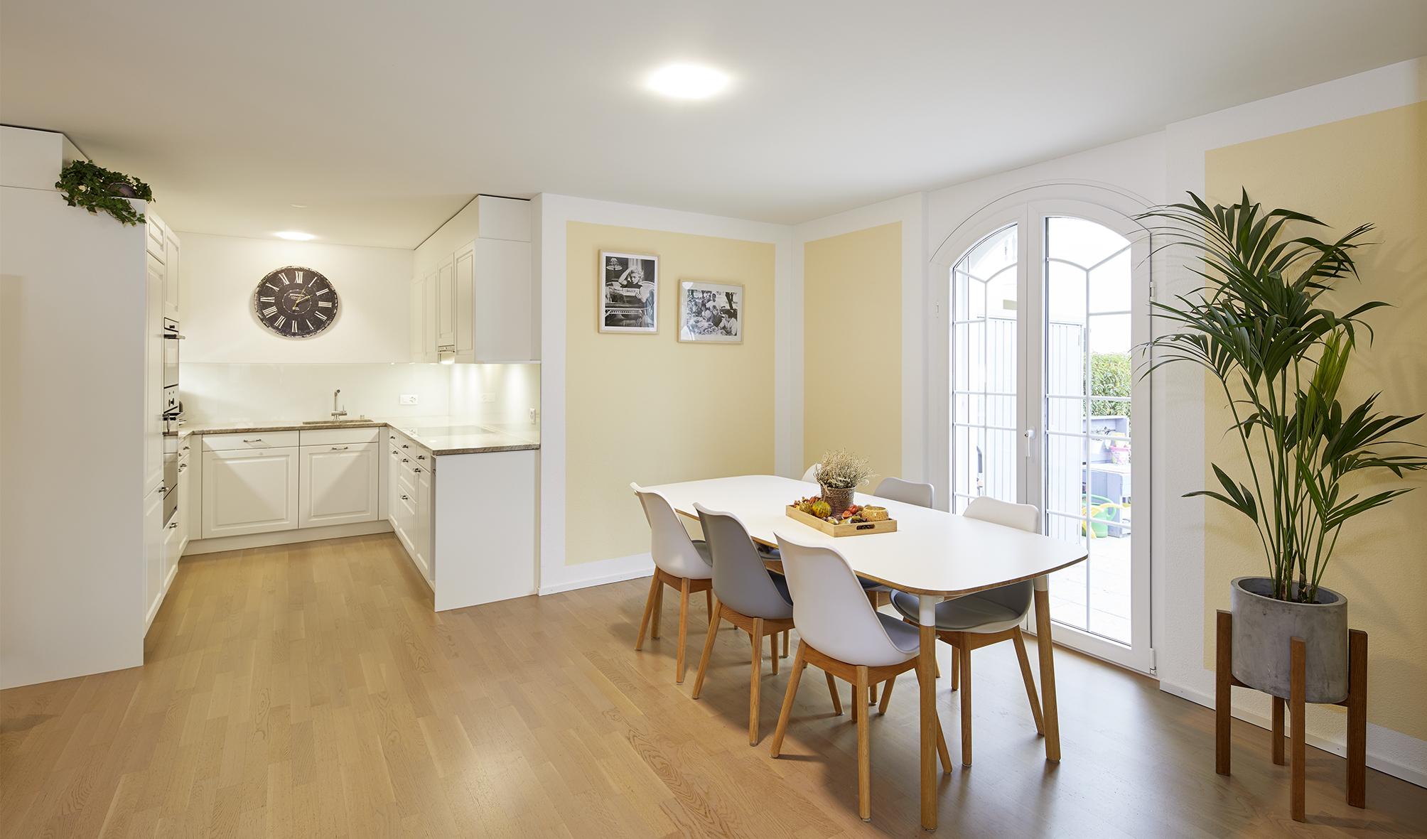 Hochwertig ausgebaute Gartenwohnung in bevorzugtem, ruhigen Quartier