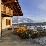 Familienfreundliches Zuhause mit Sicht auf Bergpanorama