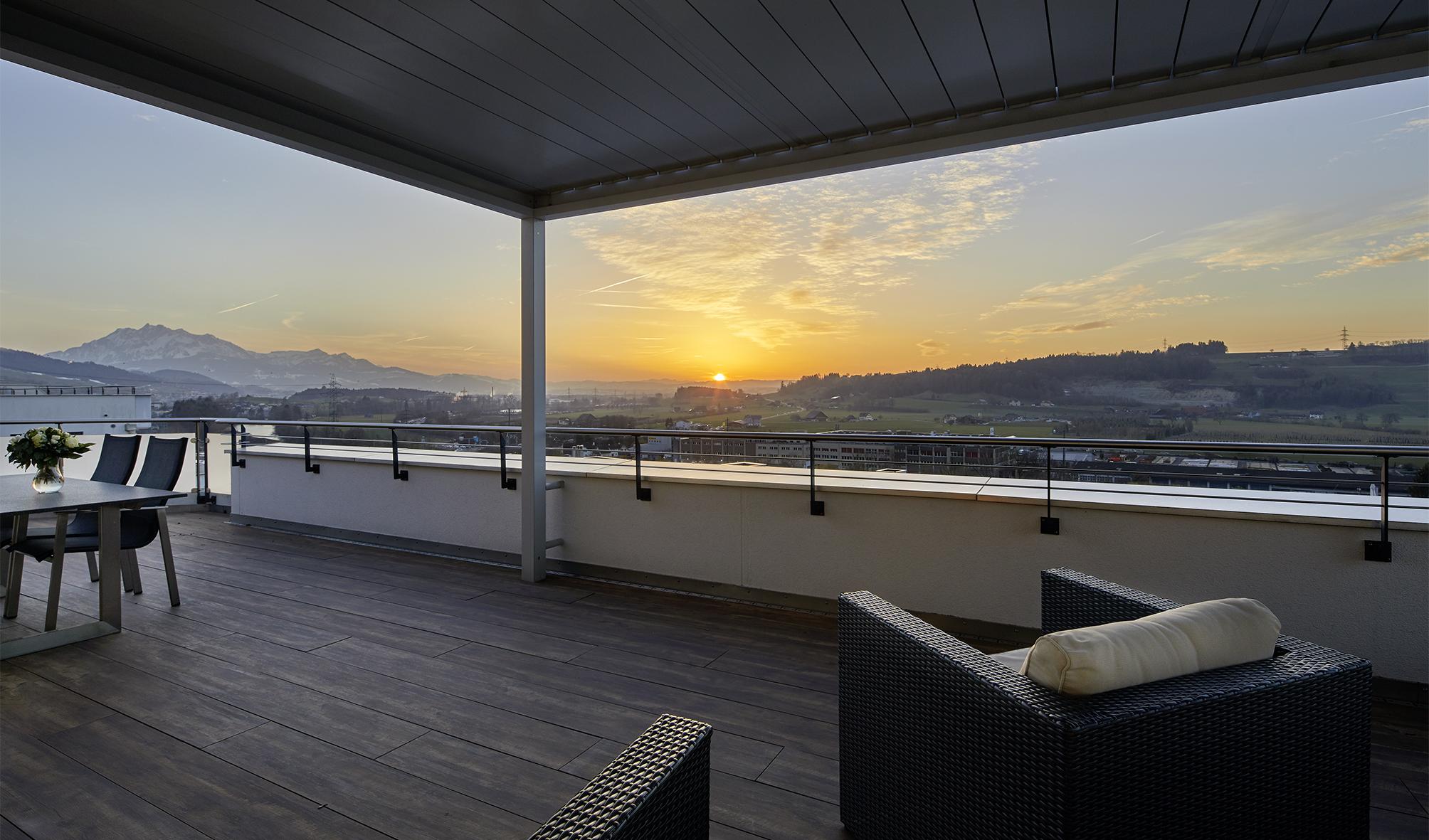 6½ Zimmer Terrassenwohnung mit Weitblick