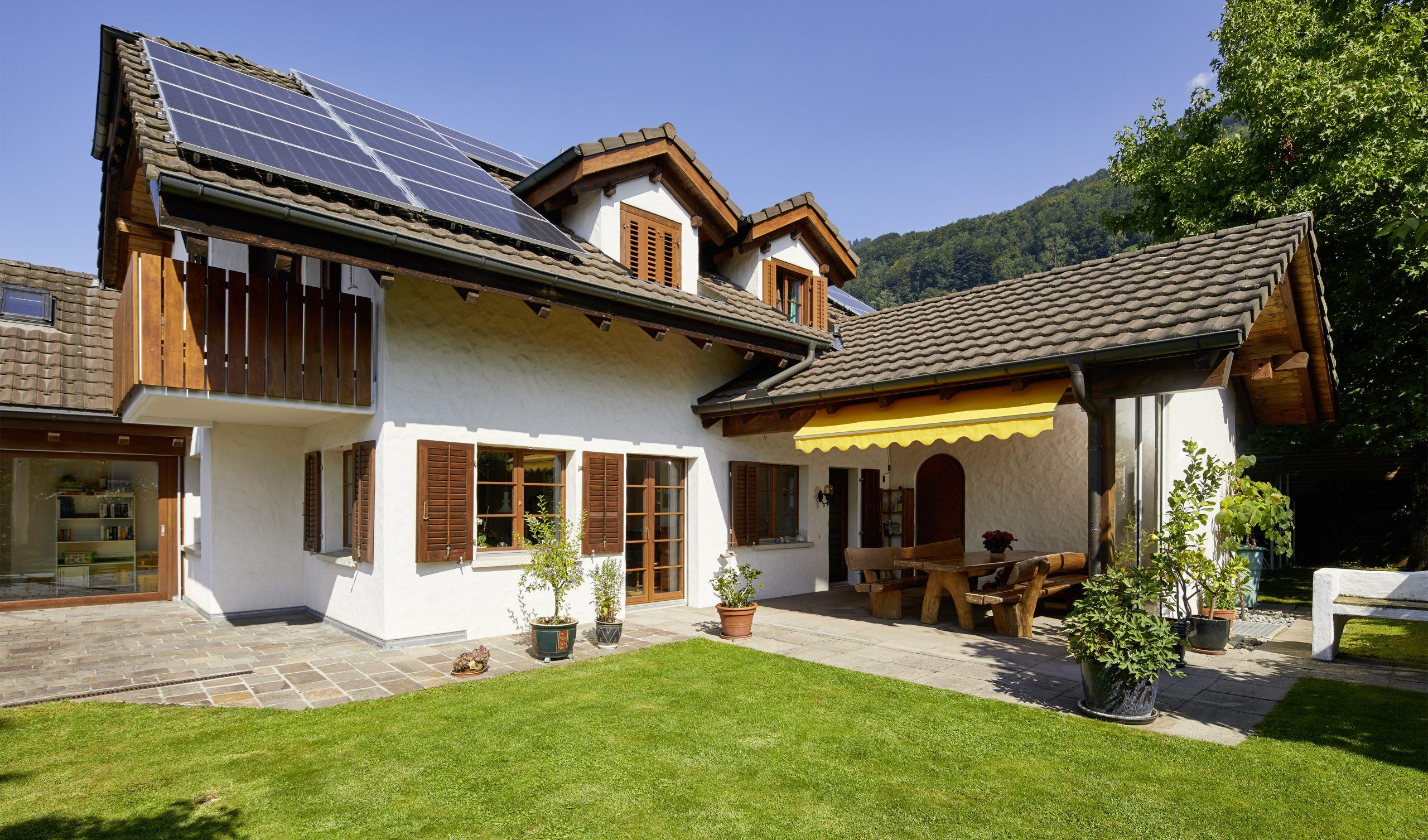 Einfamilienhaus mit herrlichem Aussenbereich