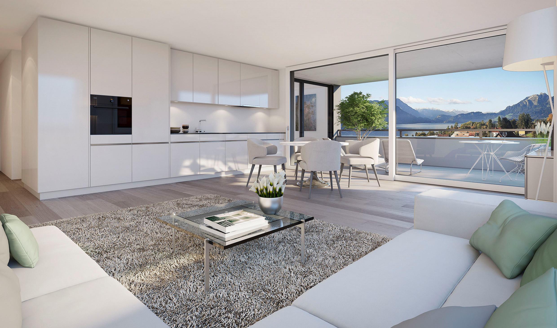 BINSGARDEN – Moderne 2½-Zimmer-Wohnung an bevorzugter Lage