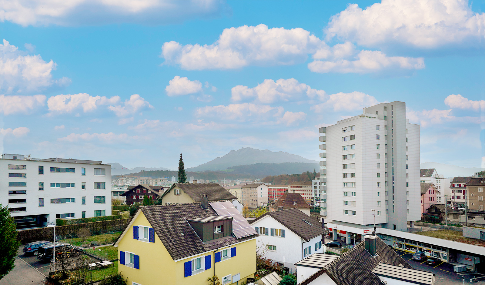 An bester Lage in Emmenbrücke: Neubau als Renditeobjekt