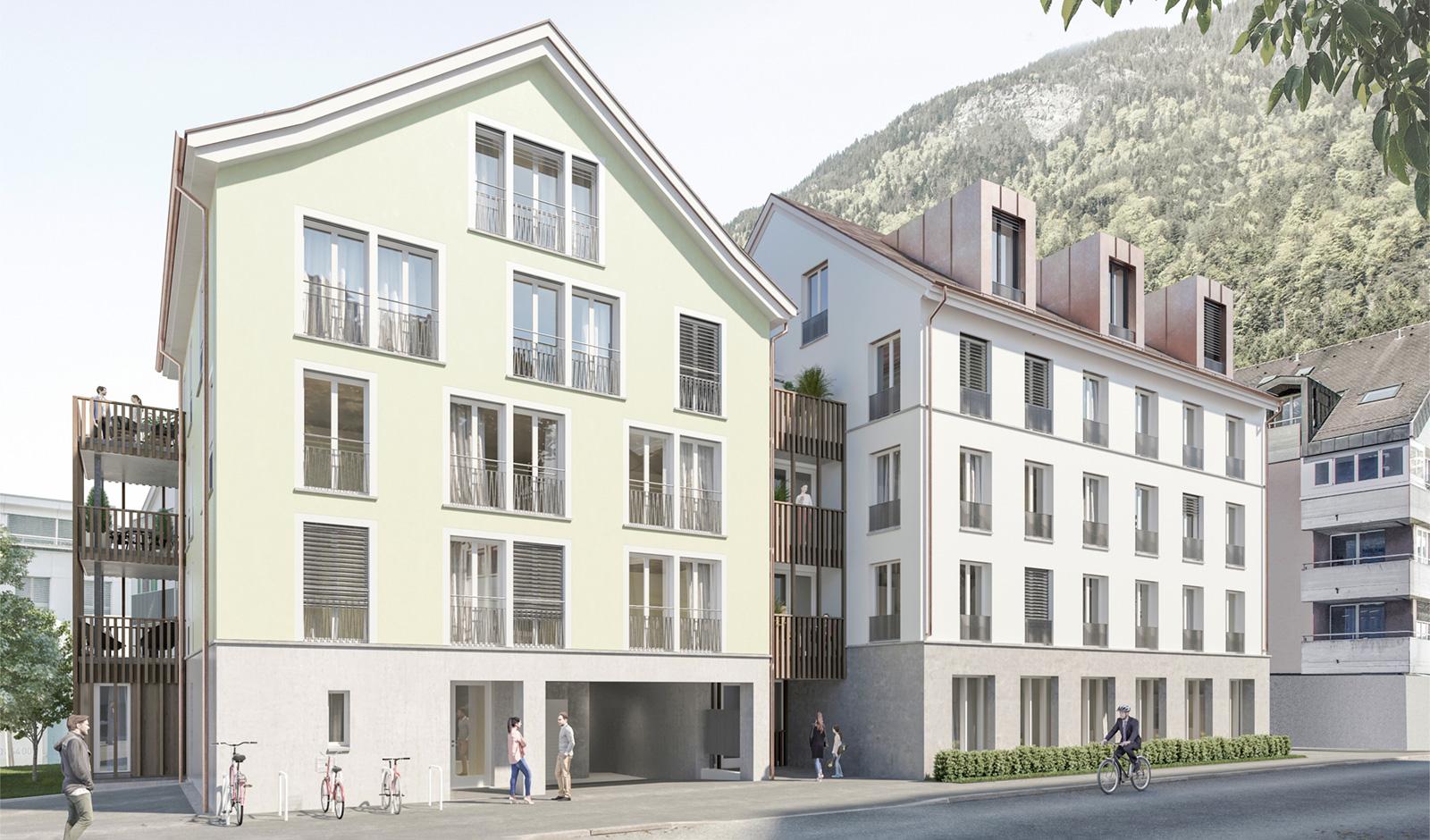 Neubauwohnung im Zentrum von Altdorf
