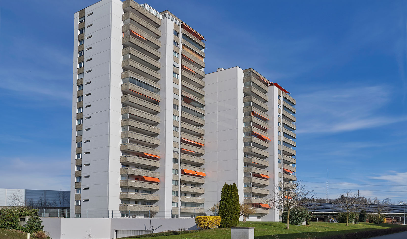 Urbanes Wohnen am Ufer der Reuss