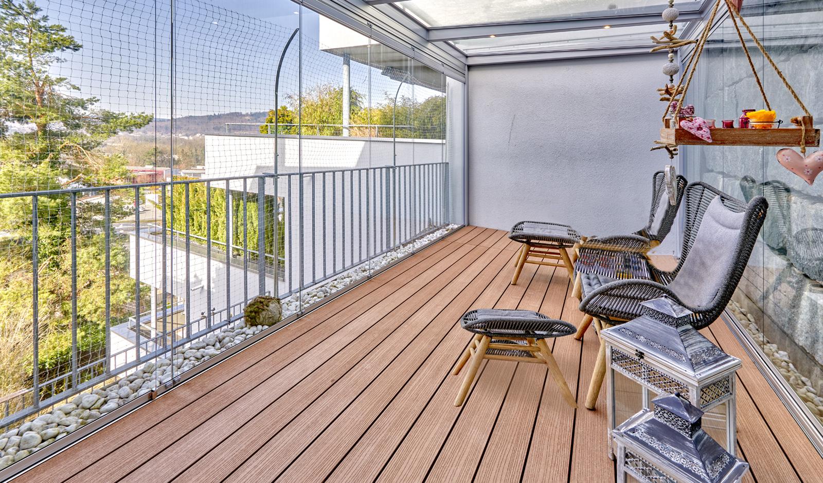 Attraktive Terrassenwohnung mit Weitsicht