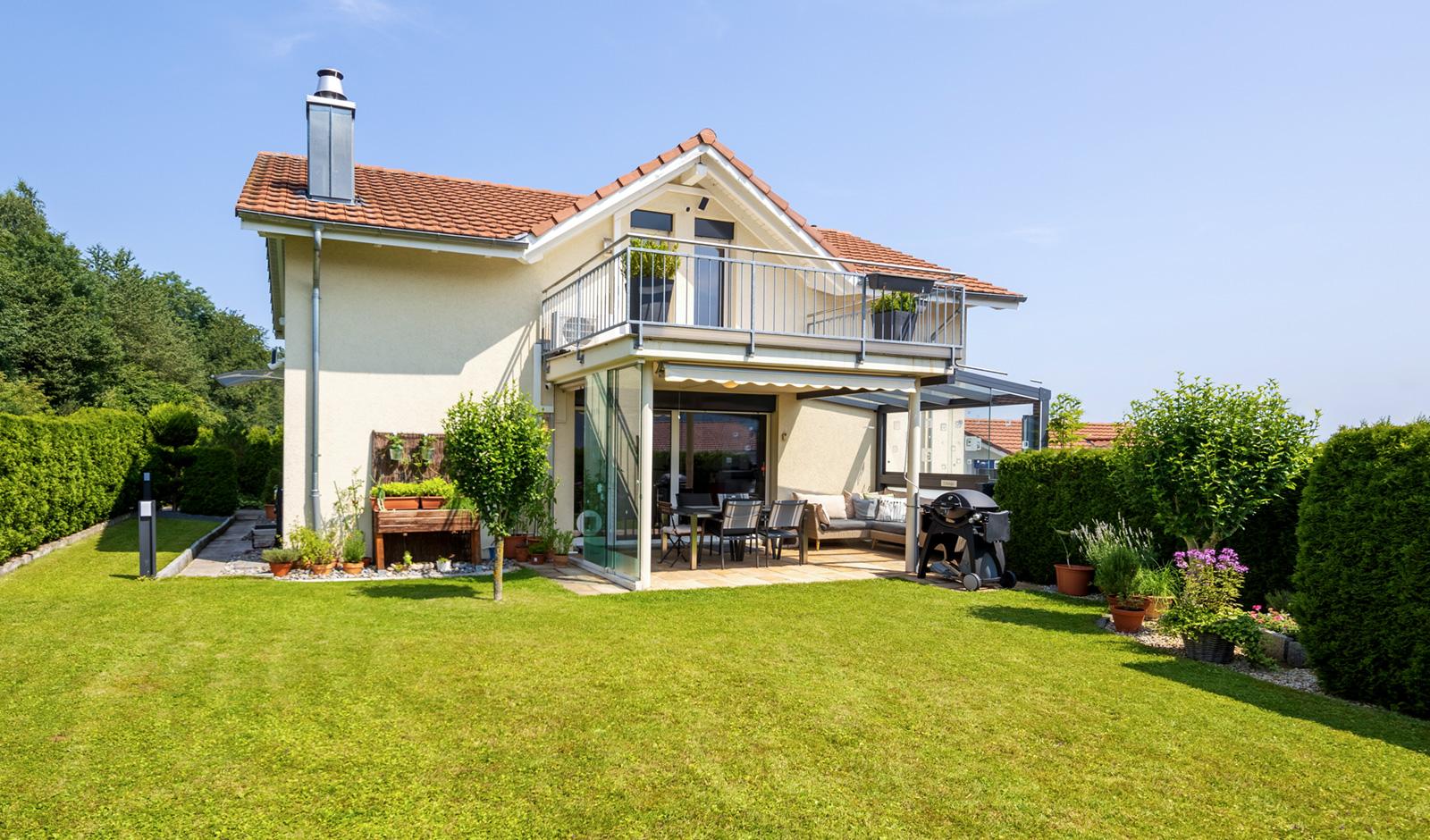 Einfamilienhaus mit Garten in Luzern