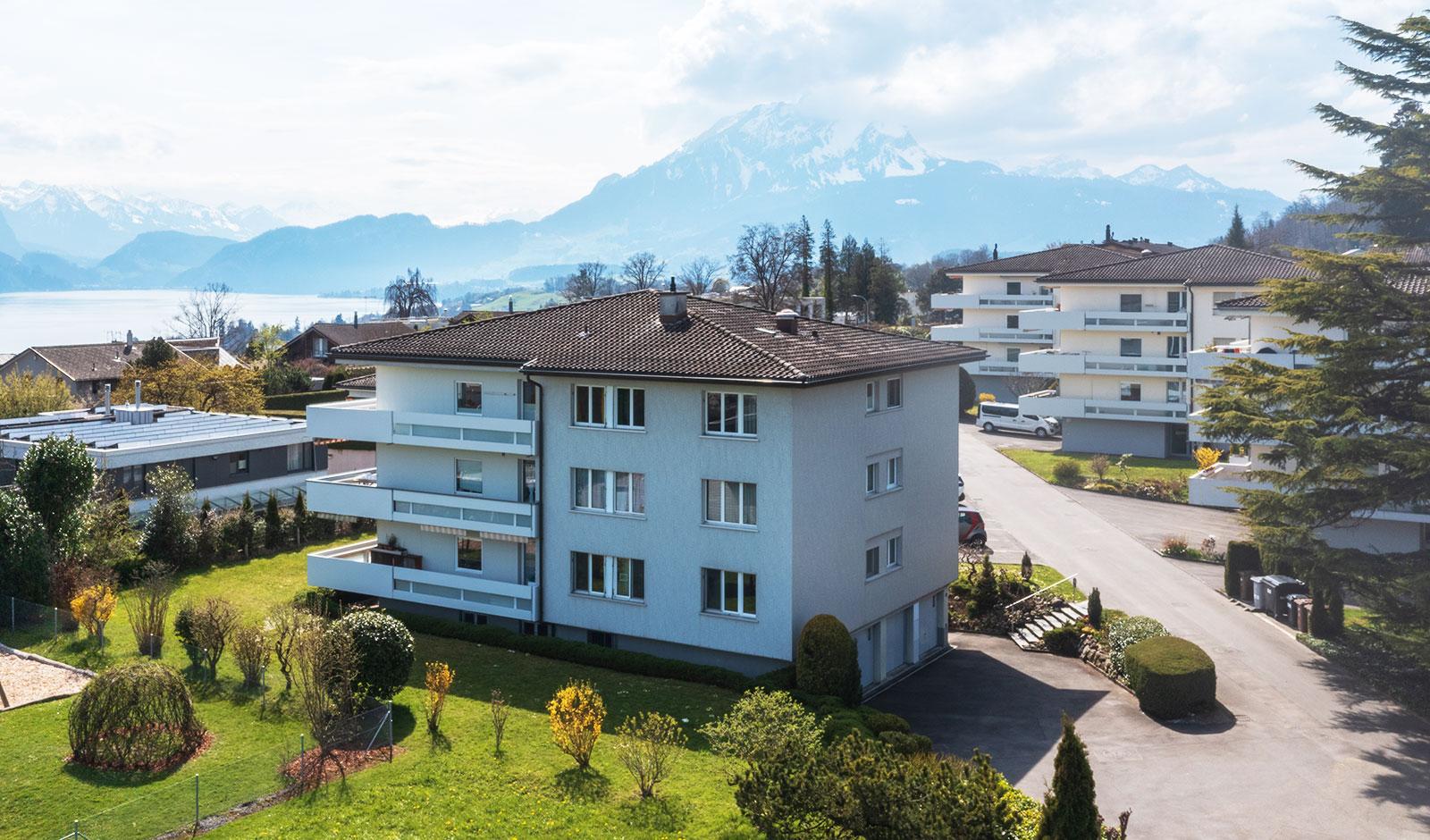 Sonnenverwöhnte Mietwohnung mit Alpenpanorama