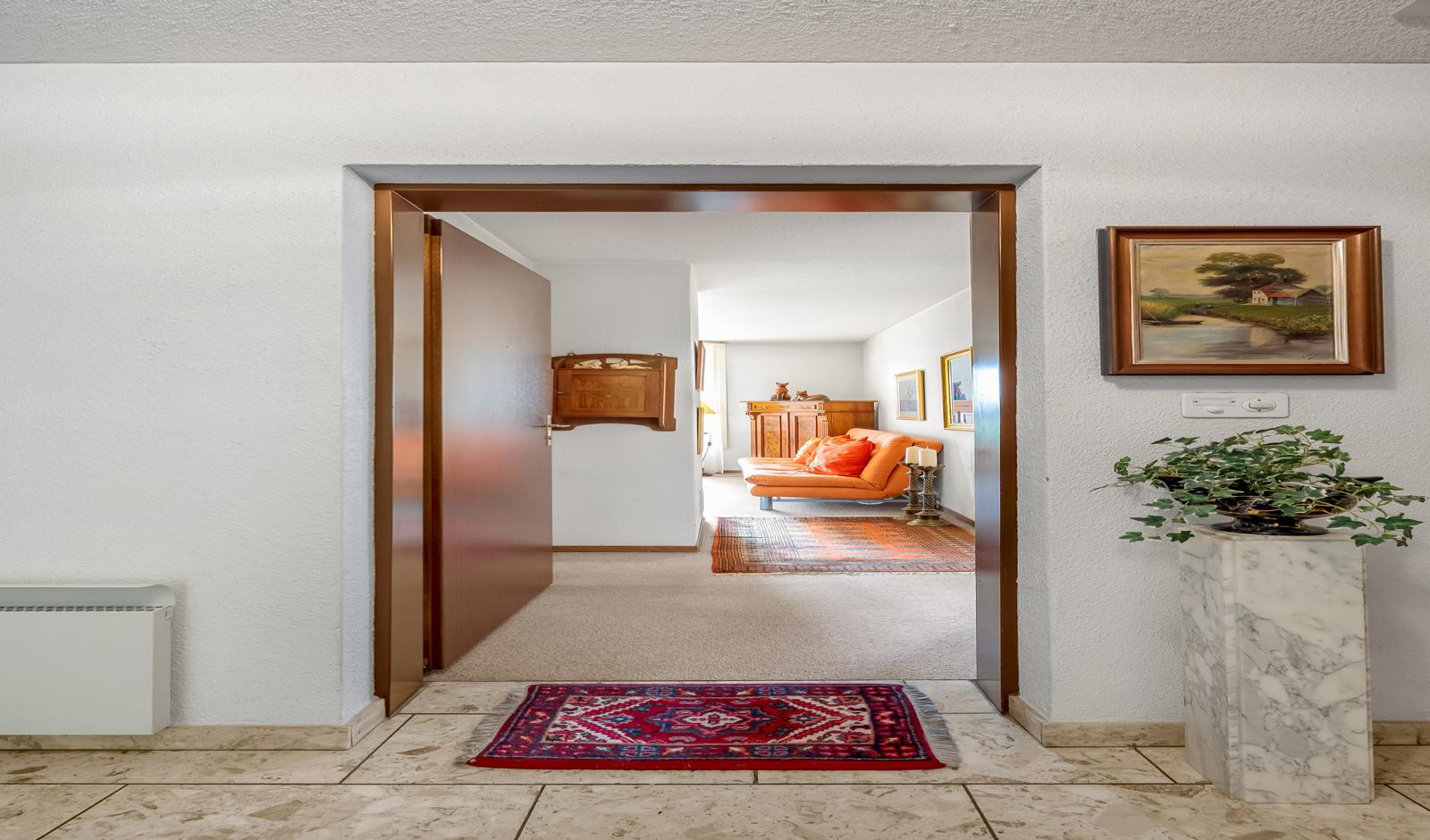 Charmante 2½-Zimmer-Wohnung mit Blick in die Berge
