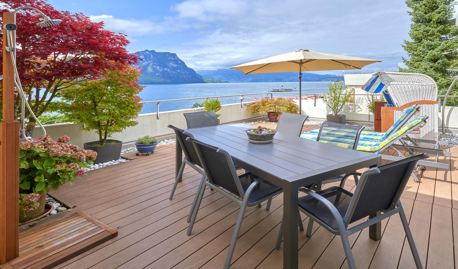 Wohnen wie im Urlaub – sonnenverwöhnte Terrassenwohnung an bester Lage